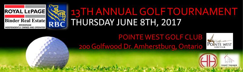 Royal LePage Binder 13th Annual Golf Tournament
