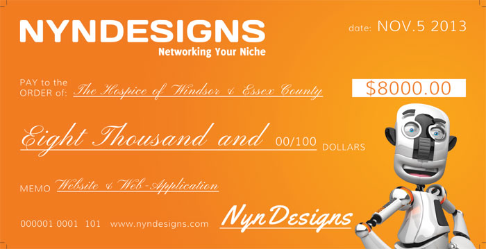 Hospice Thanks NYN for Website Creation